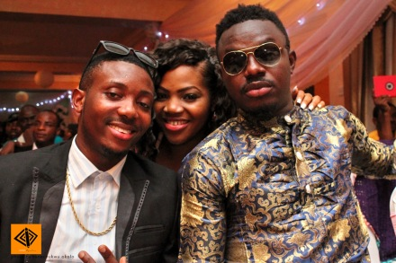 L-R: Warri Bros, Mc Olivia, 2CanTalk
