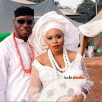 PHOTOs: Dream Fm OAP Oma Weds...