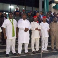 South East Governors Forum In A Closed Door Meeting Over IPOB In Enugu.